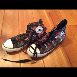 667b13e67be146 Converse All Star Harley Quinn shoes size 10